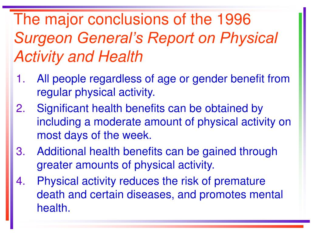 surgeon general report summary essay Summary and conclusions from a scientific standpoint us surgeon general - report on health consequences of exposure to secondhand smoke.