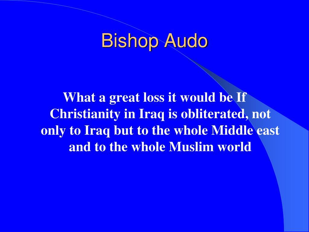 Bishop Audo