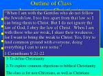 outline of class investigating christianity3