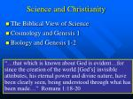 science and christianity52