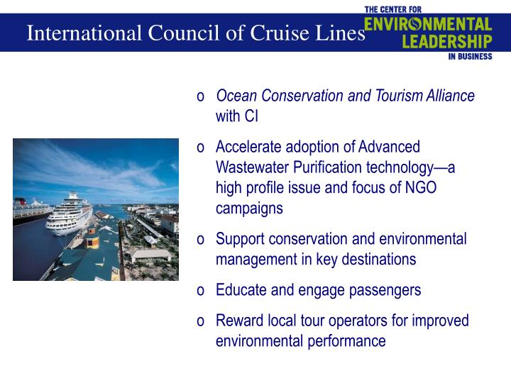 International Council of Cruise Lines
