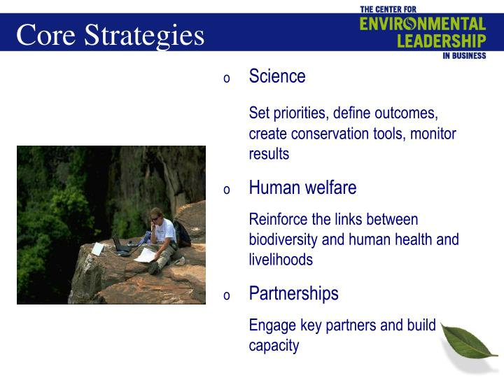 Core Strategies
