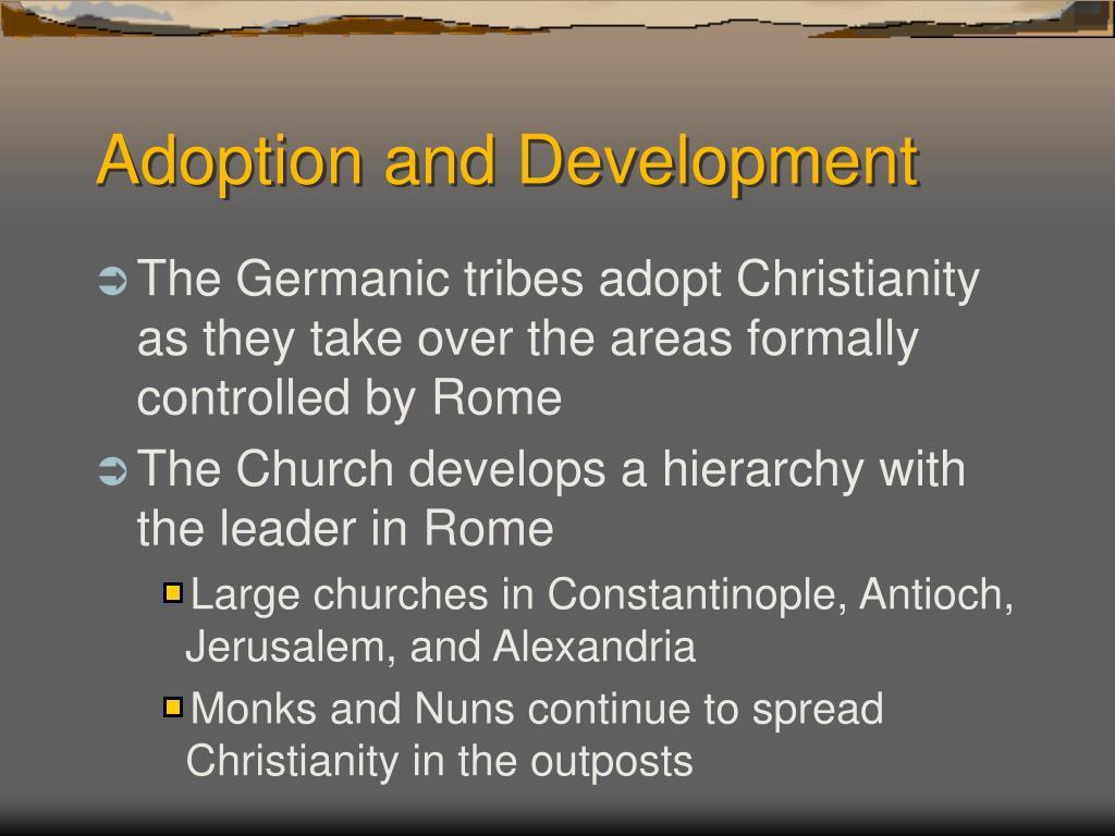 Adoption and Development