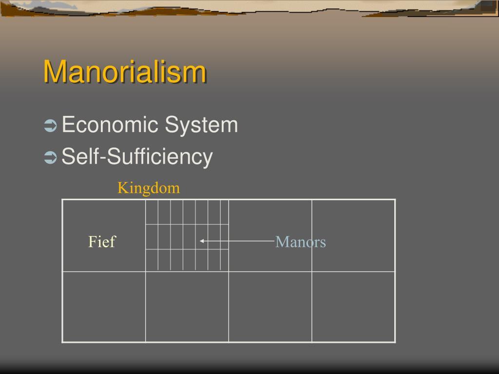 Manorialism