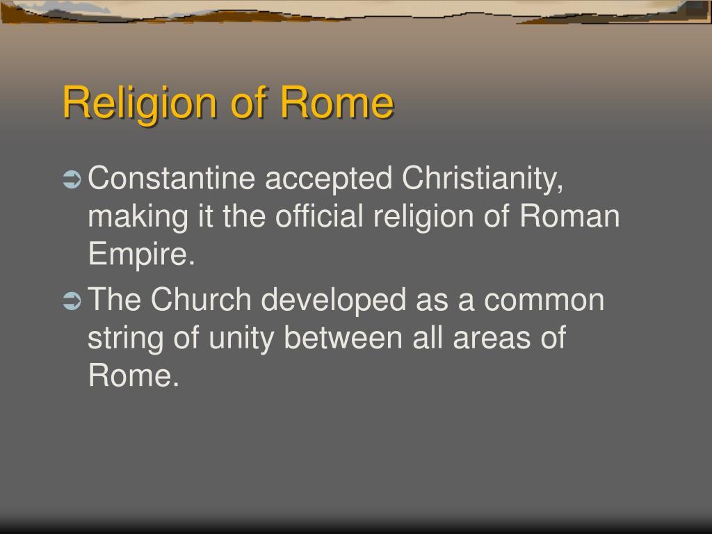 Religion of Rome