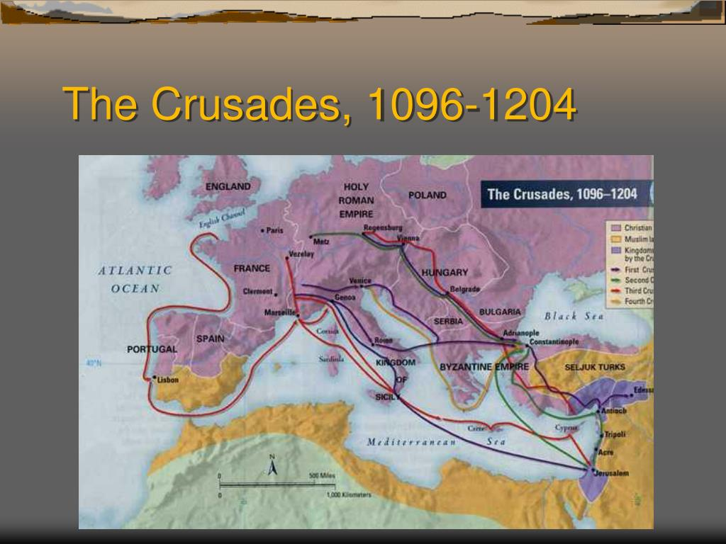 The Crusades, 1096-1204