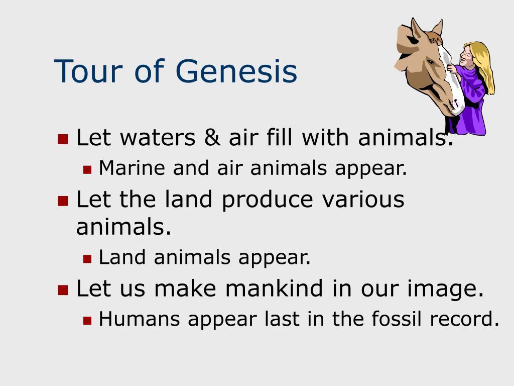 Tour of Genesis