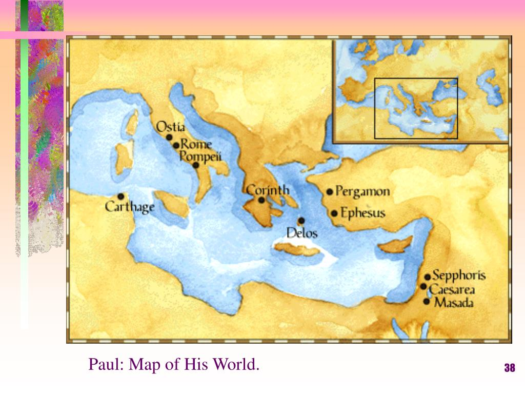 Paul: Map of His World.