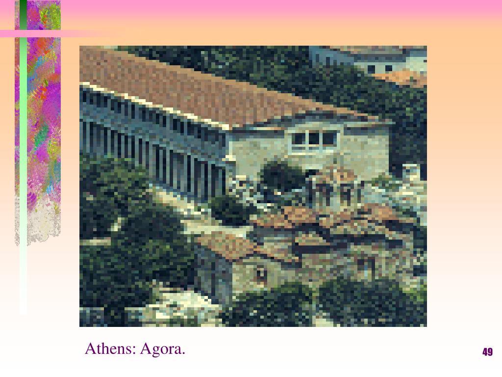 Athens: Agora.