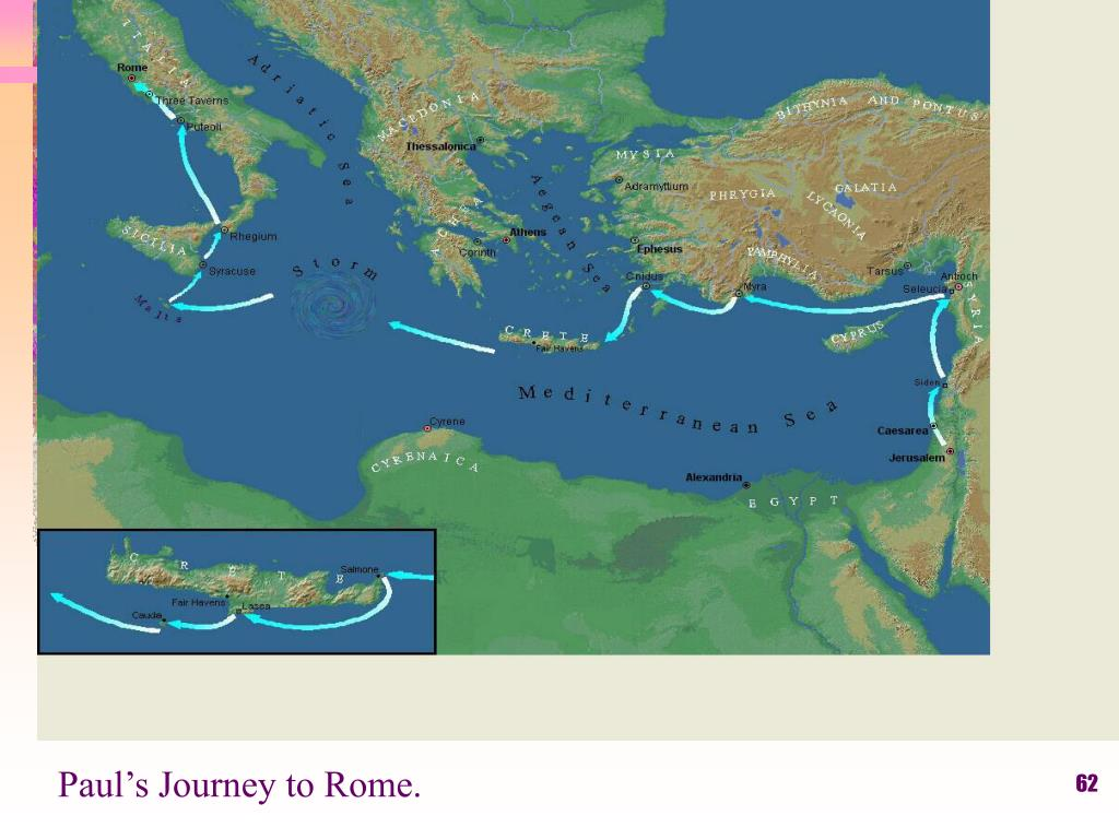 Paul's Journey to Rome.