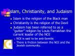 islam christianity and judaism