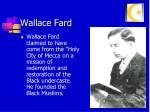wallace fard