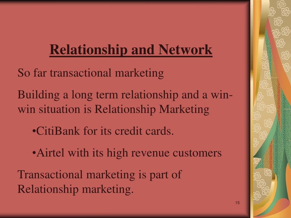 Relationship and Network