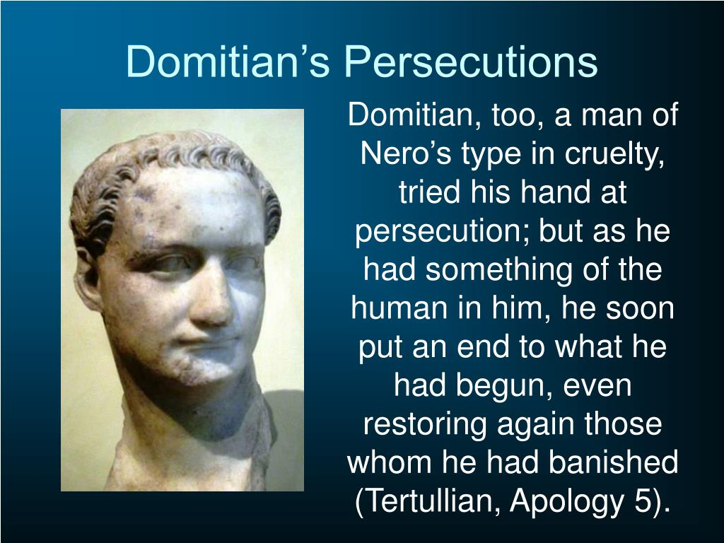 Domitian's Persecutions