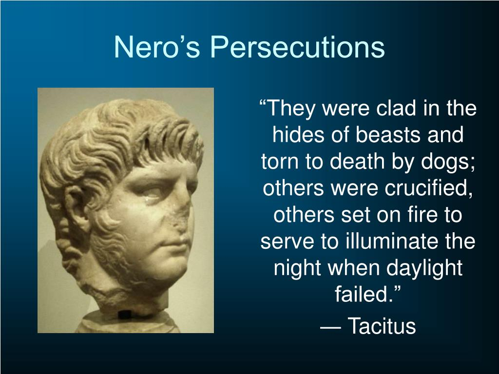 Nero's Persecutions