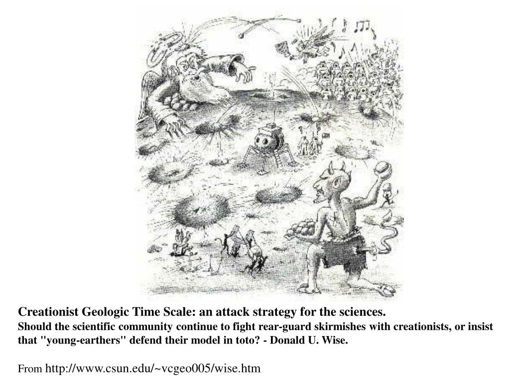 Creationist Geologic Time Scale: an attack strategy for the sciences.