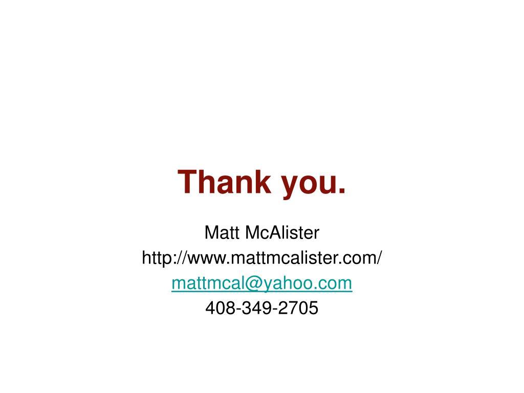 Matt McAlister