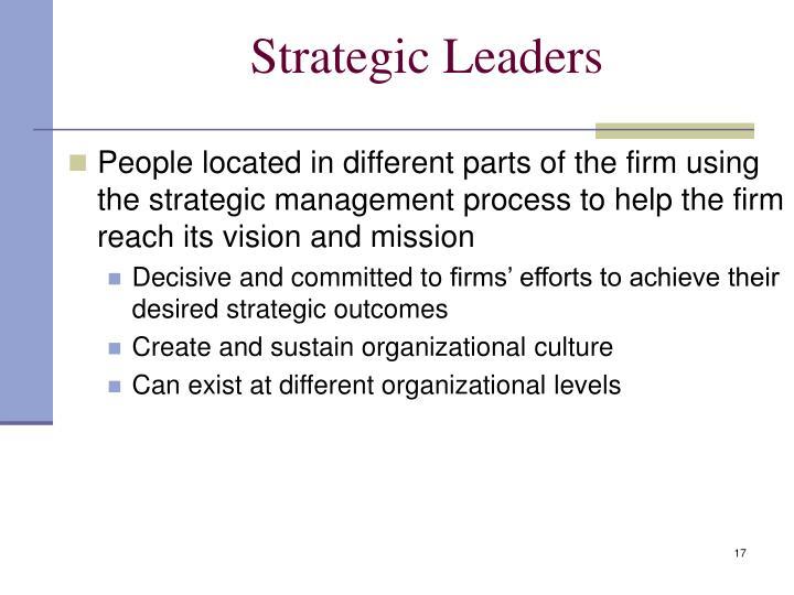 Strategic Leaders