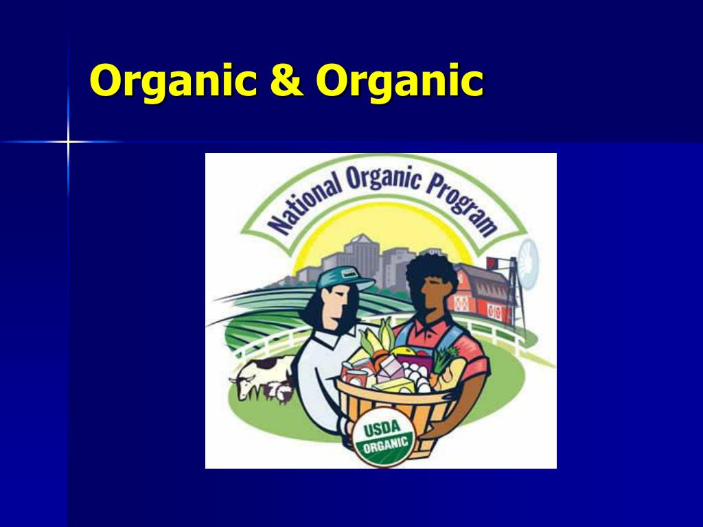 Organic & Organic