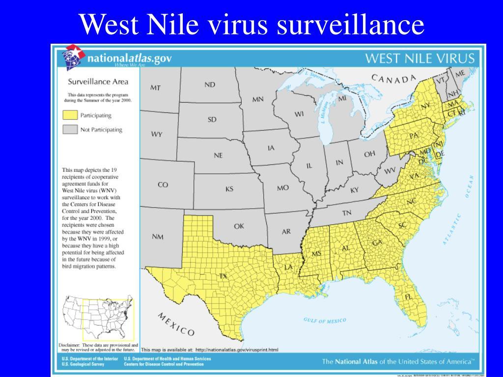 West Nile virus surveillance