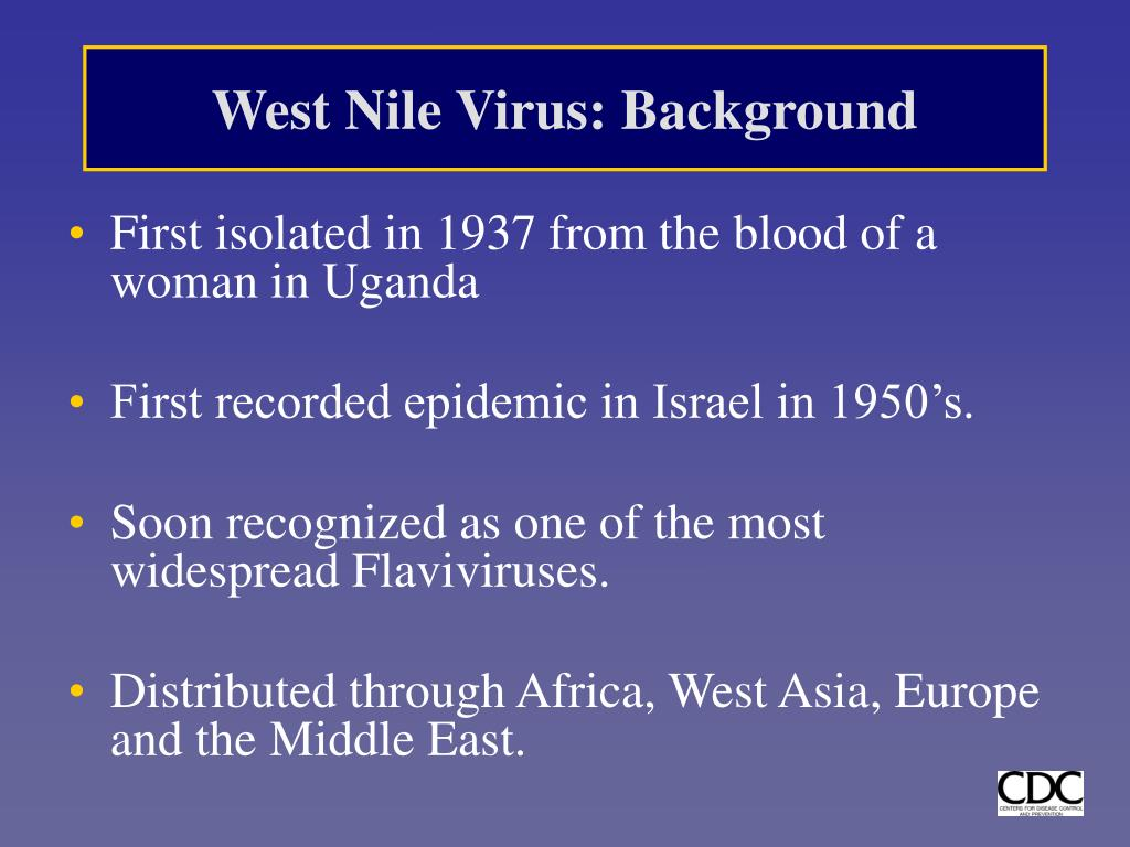 West Nile Virus: Background