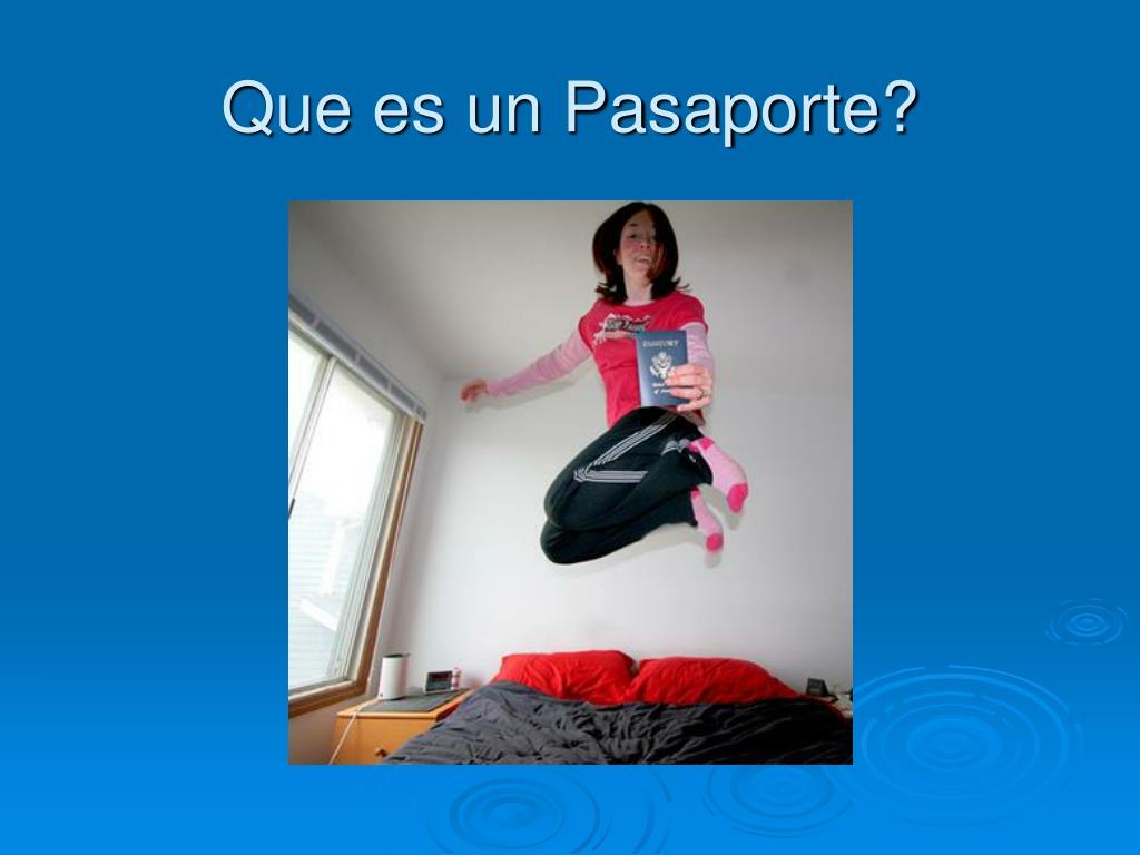 Que es un Pasaporte?