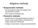 adaptive methods7