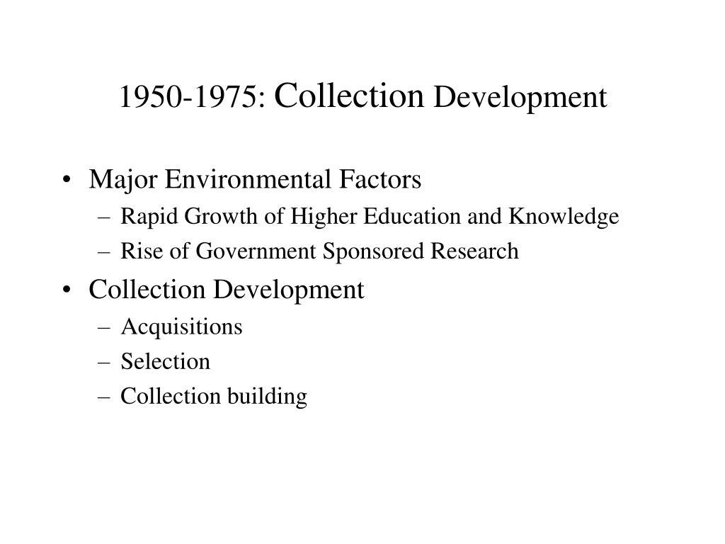 1950-1975: