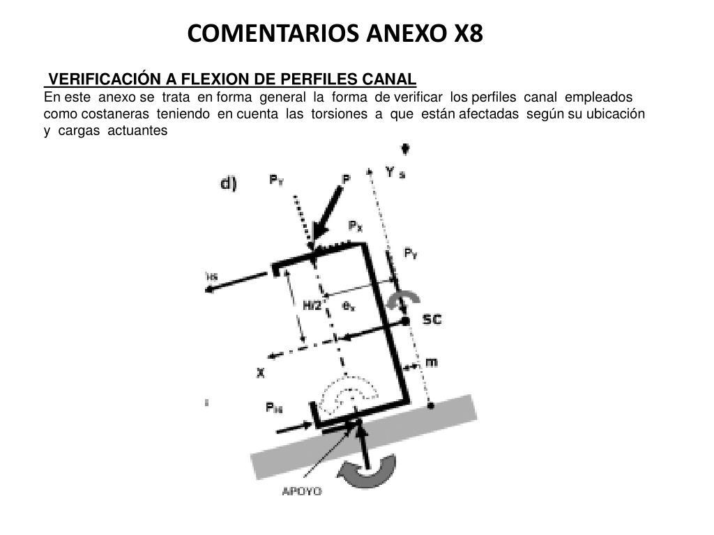 COMENTARIOS ANEXO X8