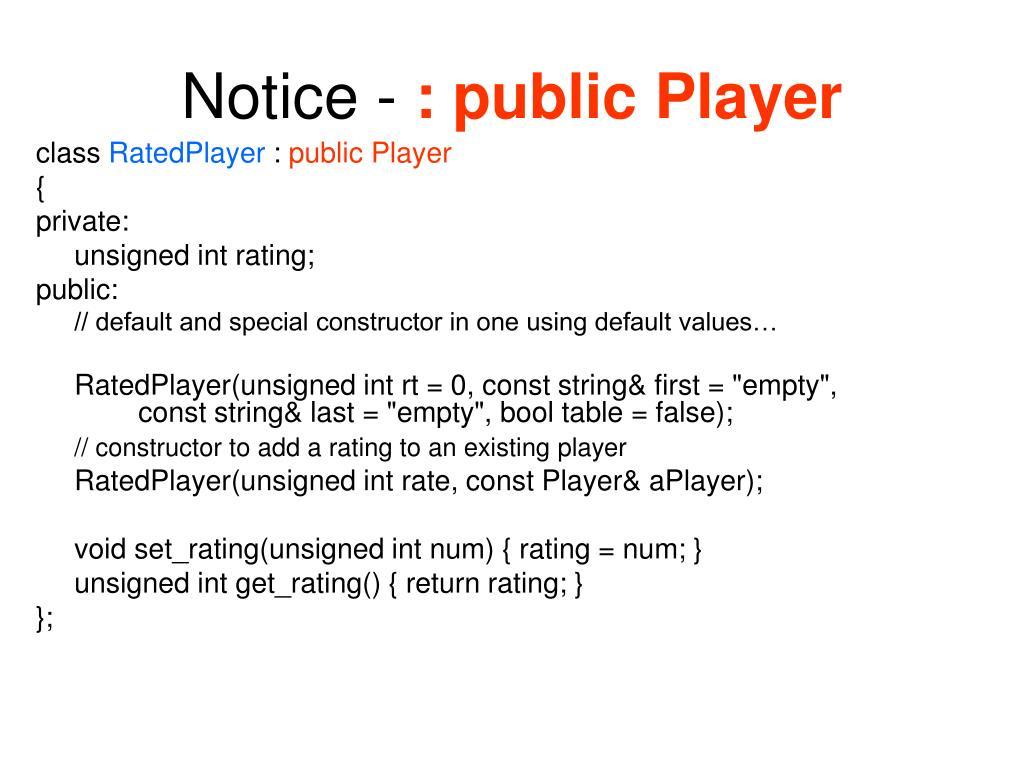 Notice -