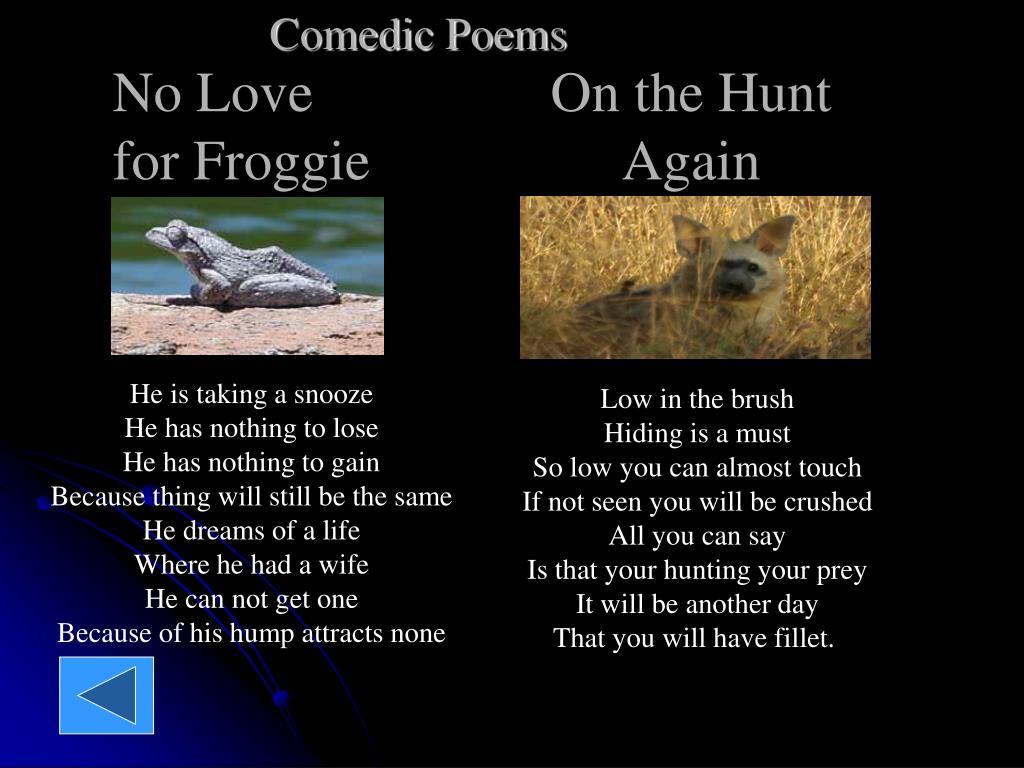Comedic Poems
