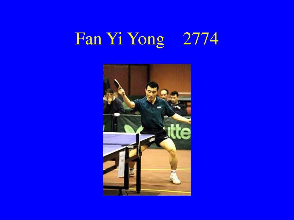 Fan Yi Yong    2774