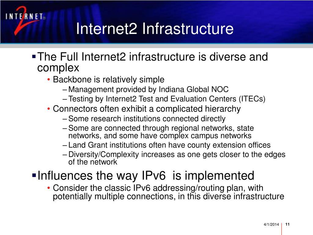 Internet2 Infrastructure