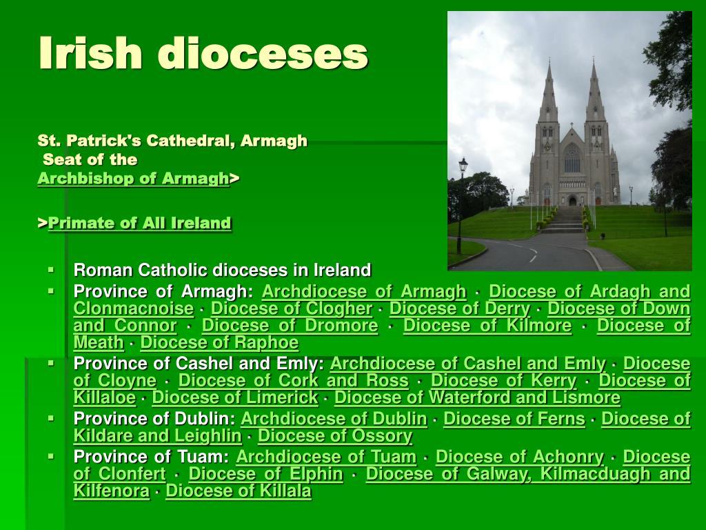 Irish dioceses