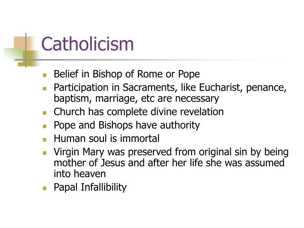 Catholicism