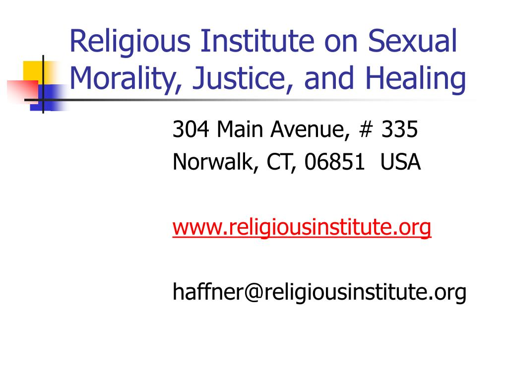 Religious Institute on Sexual Morality, Justice, and Healing