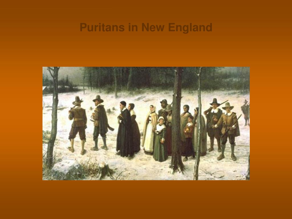 Puritans in New England