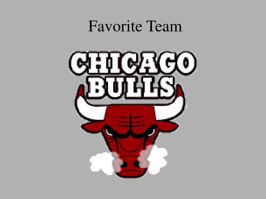 Favorite Team