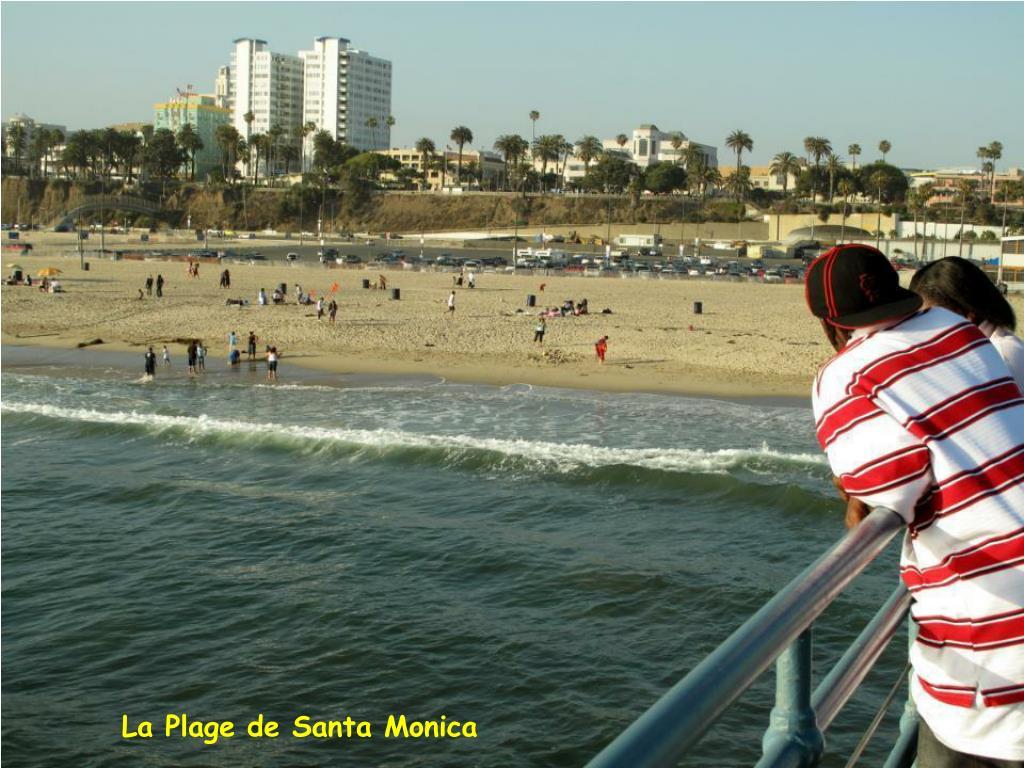 La Plage de Santa Monica