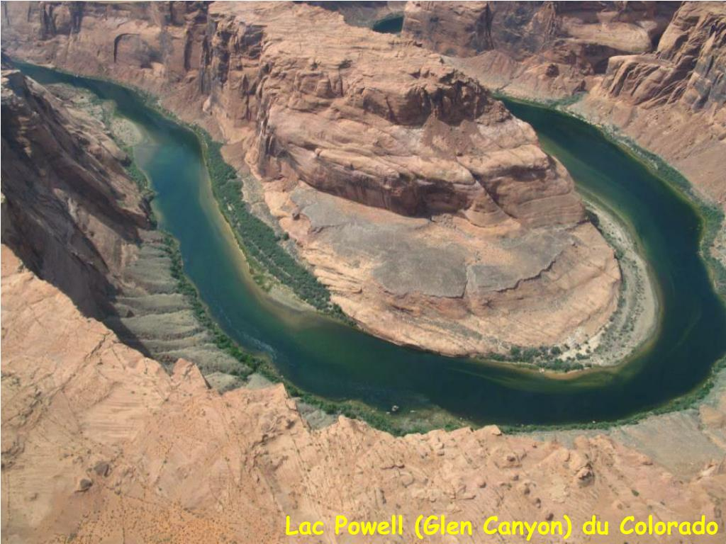 Lac Powell (Glen Canyon) du Colorado