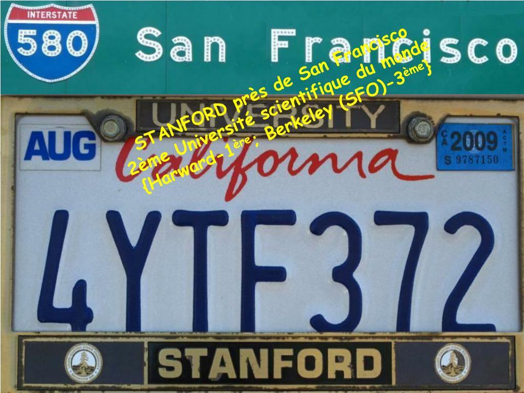 STANFORD près de San Francisco