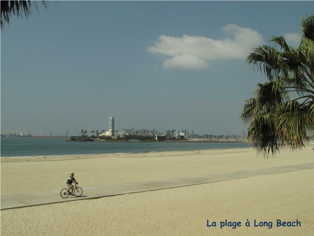 La plage à Long Beach