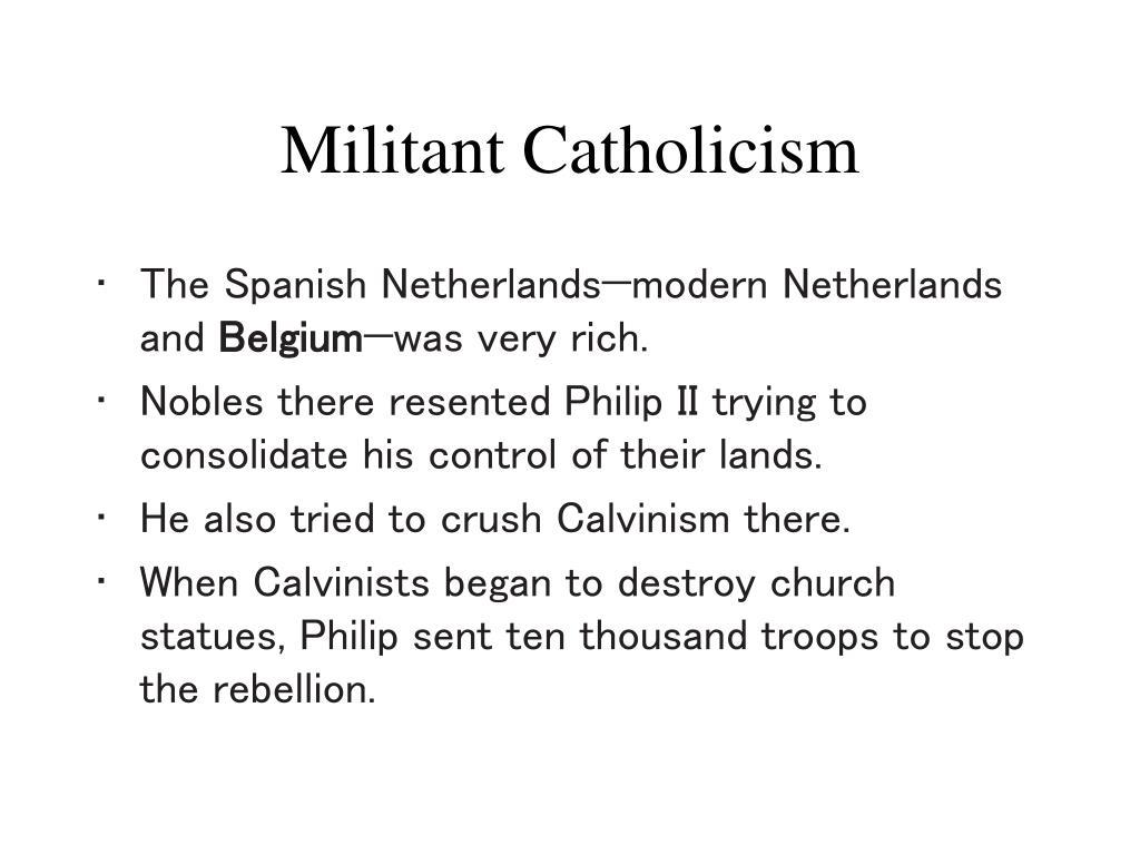 Militant Catholicism