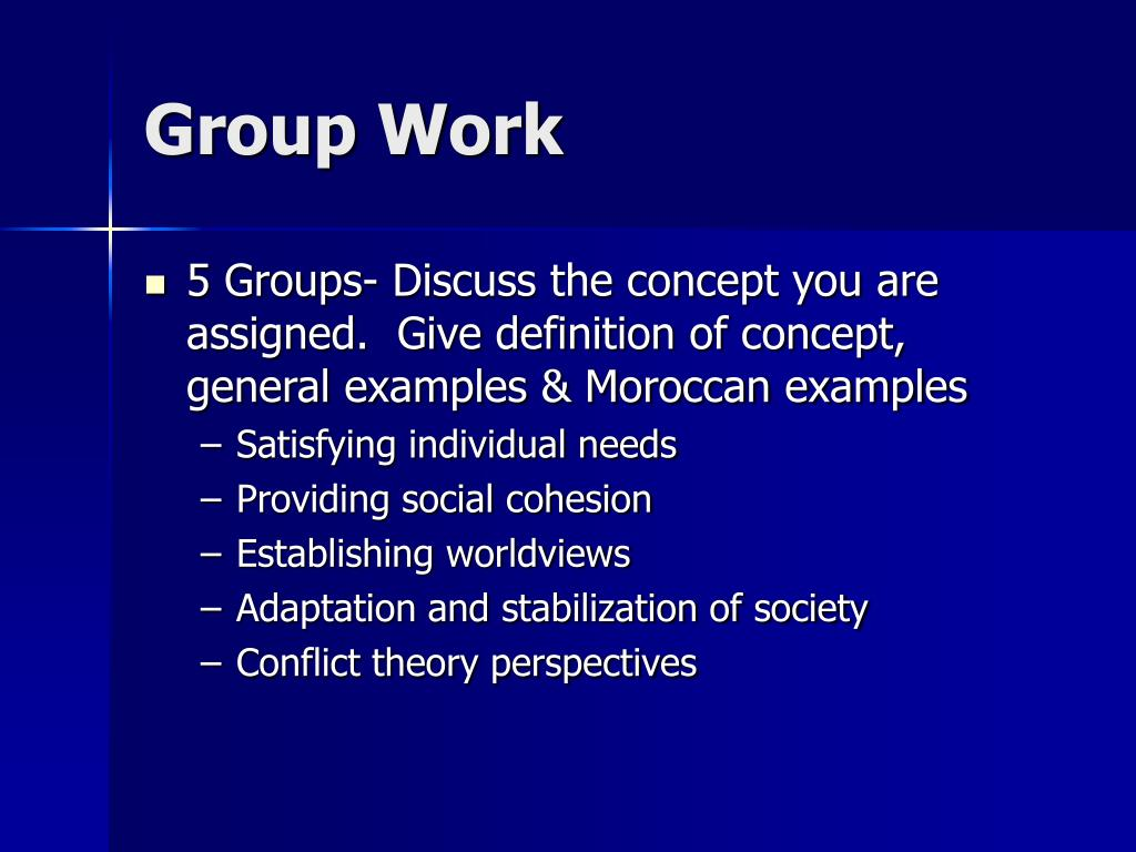 Group Work