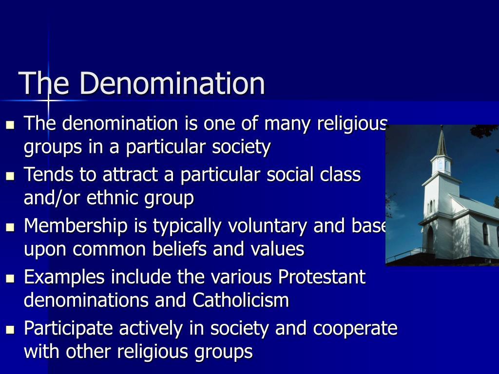 The Denomination