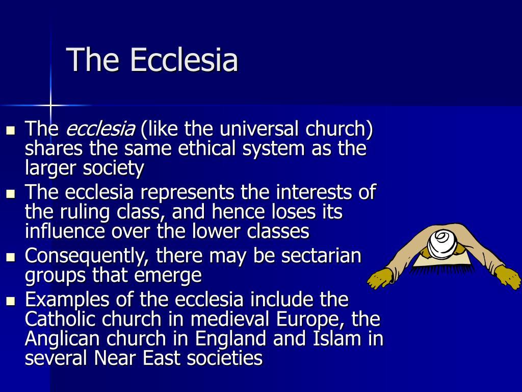 The Ecclesia