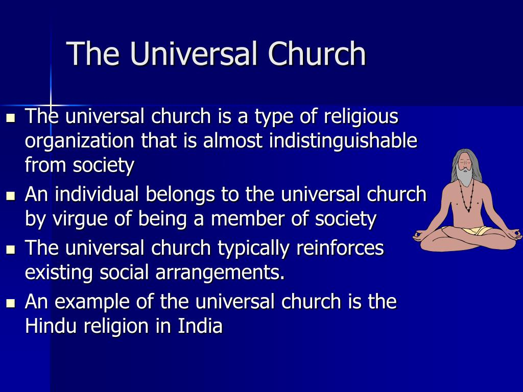 The Universal Church