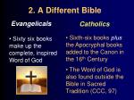 2 a different bible