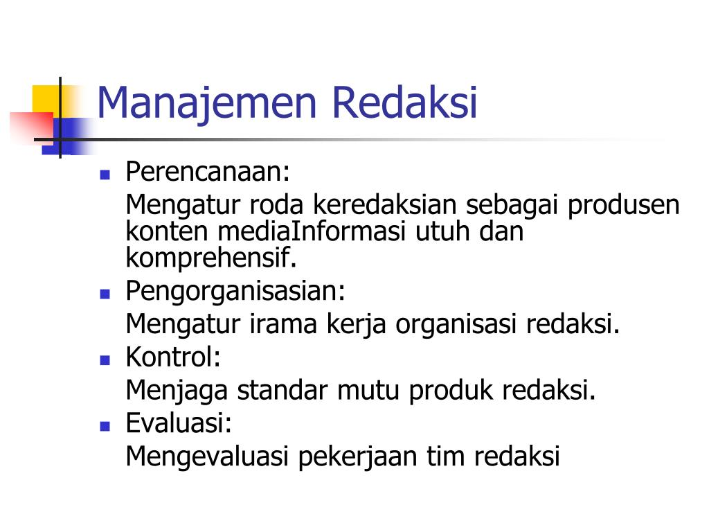 Manajemen Redaksi