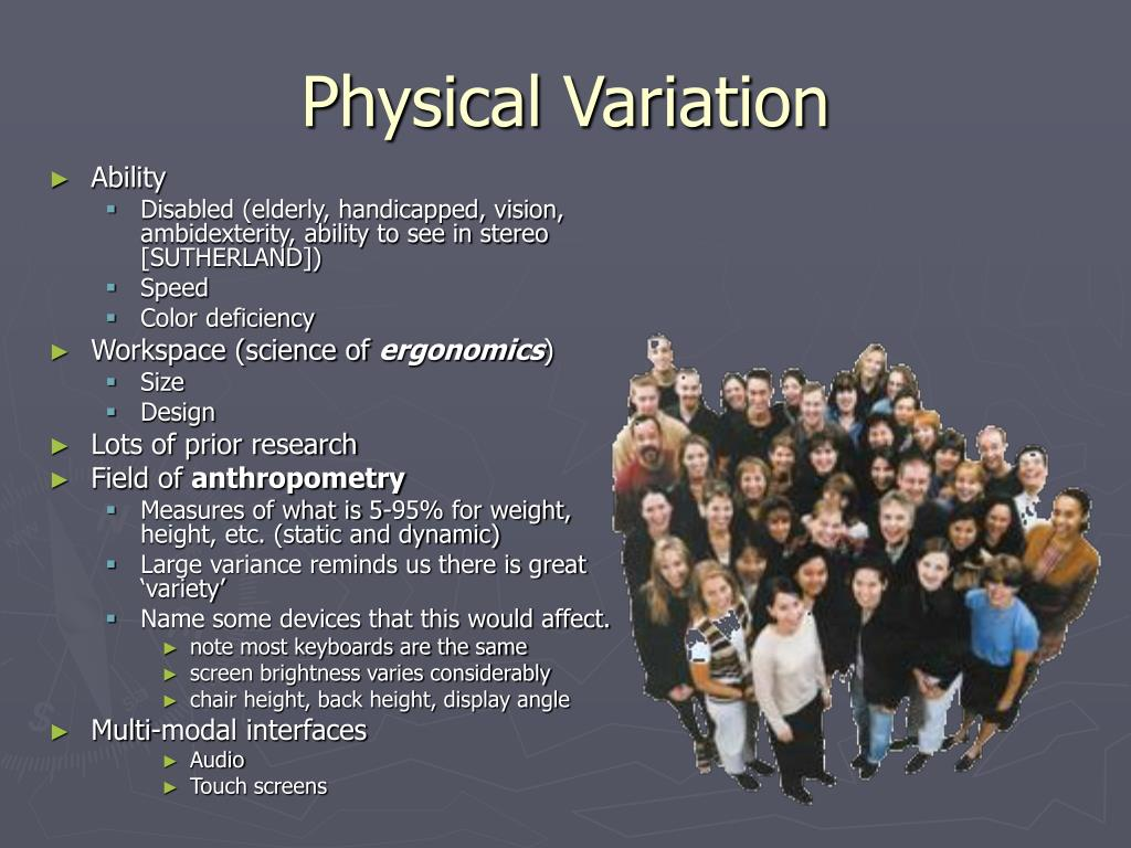 Physical Variation